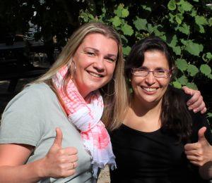 2 dames van Vriendendiensten